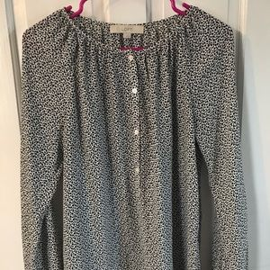 Ann Taylor LOFT women's blouse, Sz small